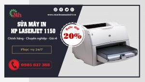 sua may in hp laserjet 1150