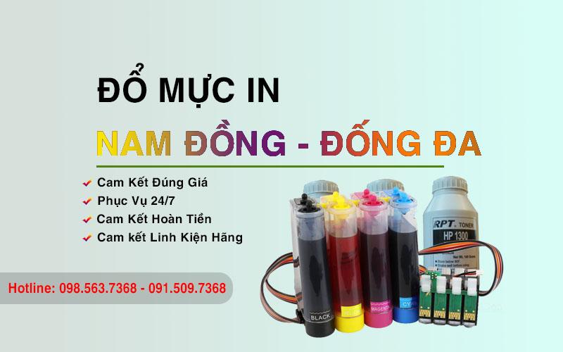 Đổ mực in tại Nam Đồng - Đống Đa