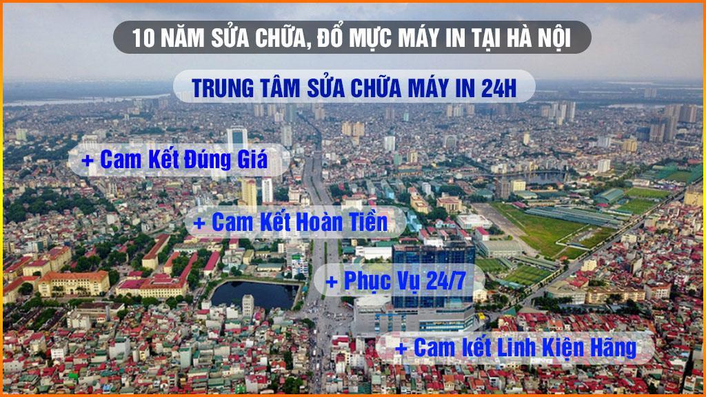 10 Năm Sửa Chữa Máy In Tại Hà Nội