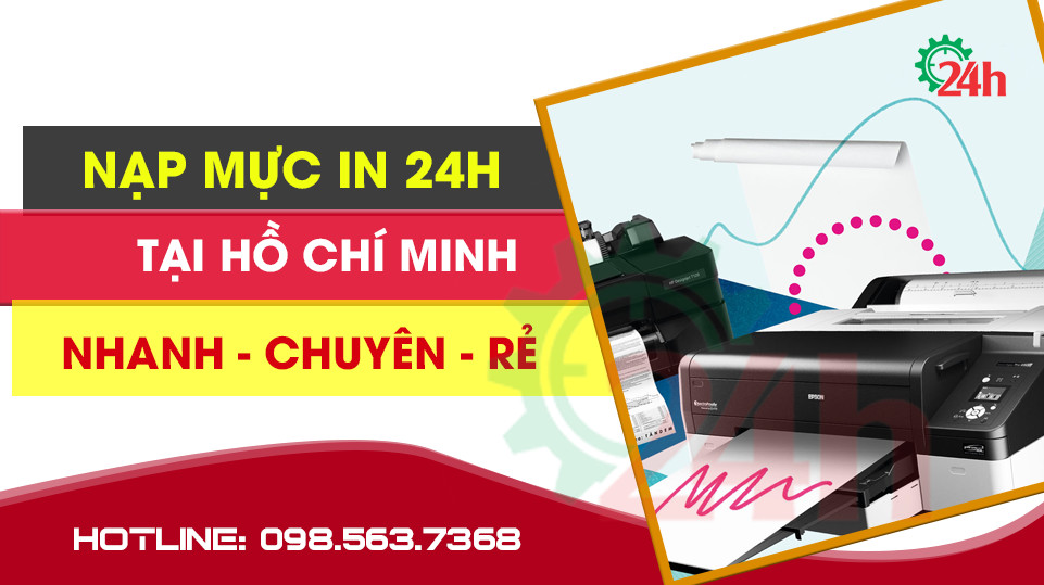 NẠP mực máy in tận nơi Hồ Chí Minh( HCM )