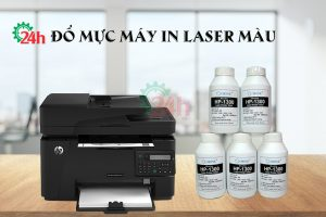 do muc may in laser mau