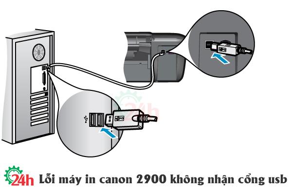 loi-may-in-canon-2900-khong-nhan-cong-usb